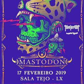 MASTODON + KVELERTAK + MUTOID MAN (Lisboa)