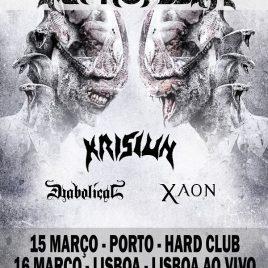 SEPTICFLESH + KRISIUN + DIABOLICAL + XAON (Oporto / Lisboa)