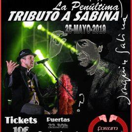 LA PENÚLTIMA – Tributo a Joaquín Sabina (A Coruña)