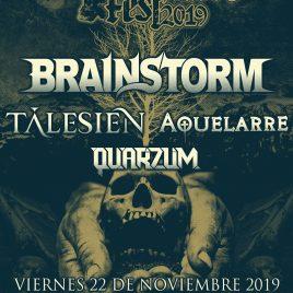 AUTUMN ALIVE 2019 en Vigo (Brainstorm + Tálesien + Aquelarre + Quarzum)