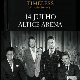 IL DIVO – Timeless 15 aniversario – (Lisboa)