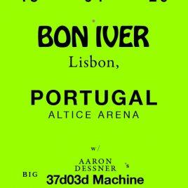 BON IVER (LISBOA, PORTUGAL)
