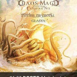 VISIONS OF ATLANTIS + CHAOS MAGIC + MORLAS MEMORIA (OPORTO / LISBOA)