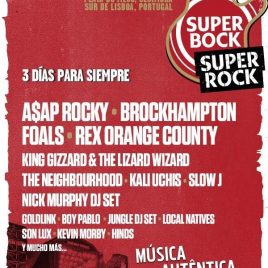 FESTIVAL SUPER BOCK SUPER ROCK 2020