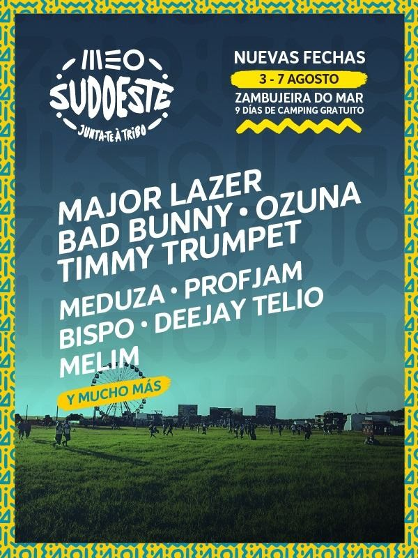 FESTIVAL MEO SUDOESTE 2021 (PORTUGAL)