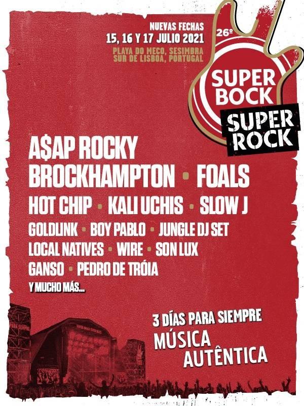 FESTIVAL SUPER BOCK SUPER ROCK 2021 (SESIMBRA, PT)